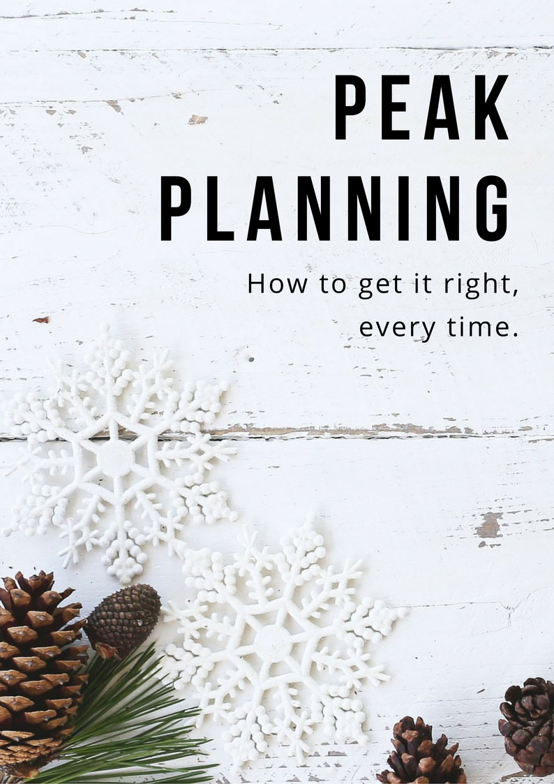 Peak Planning whitepaper